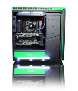 Einblick Ausstattung Gamer PC